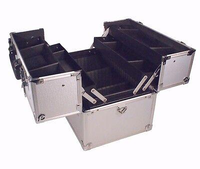 Friseur Kosmetik Beauty Schmink Utensilien Werkzeug koffer Tool box Case 64222