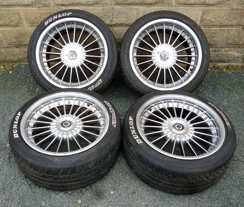 18 Quot Alpina Style Bmw E60 Alloy Wheels Tyres 5x120 5 6 7