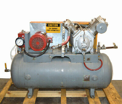 Ingersoll Rand 30t 7t 10-hp 3ph 120-gal Air Compressor Two-stage 230460v 200psi