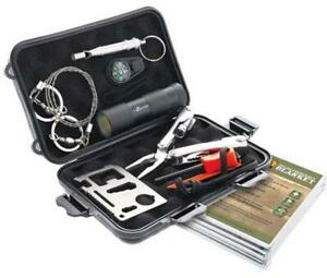 New -- 9 PIECE SWAT SURVIVAL KIT -- Essential Items to have in your vehicle when travelling on winter roads!