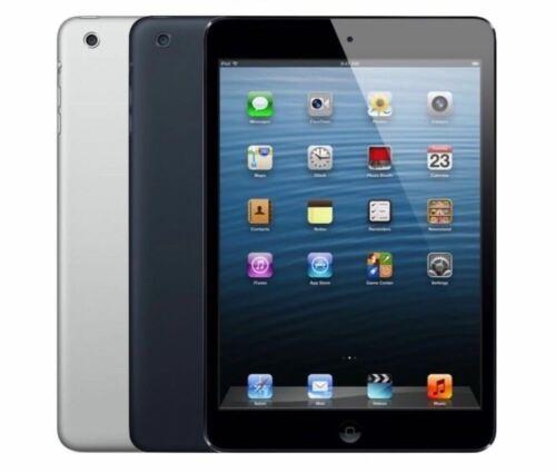 Apple iPad Mini Wi-Fi + Cellular - 16GB 32GB 64GB - Black - Gray White - Silver