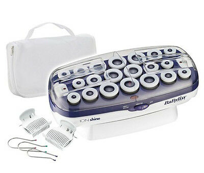 BaByliss 3026BK Multi Hair Hot Rollers Curler Curls Wave Setting Only 220-240V