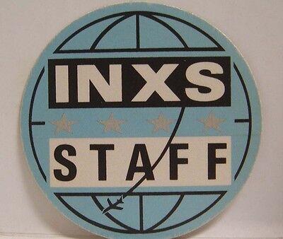 Inxs   Michael Hutchence Vintage Original Cloth Concert Tour Backstage Pass