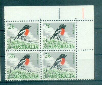 UCCELLI - BIRDS AUSTRALIA 1964 Common Stamps Mi. 344 Block of 4