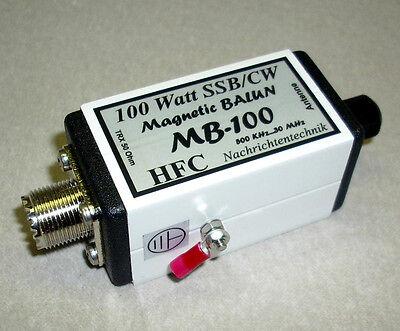 MB-100 Magnetic Balun, Langdrahtbalun 0,5-30 MHz,100 W