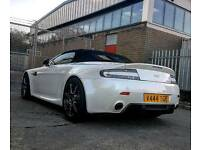 Aston martin vantage huge spec rare pearl morning frost white