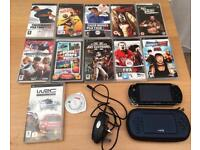 PSP and 12 games