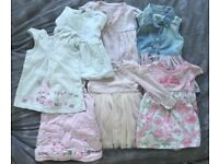 6-9 month bundle baby girl dresses