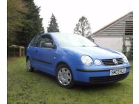 VW POLO S 1.2 3 DOOR HATCHBACK - VERY GOOD RUNNER