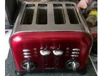 Morphy Richards 4-slice 4-slot Toaster