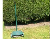 Used garden aerator