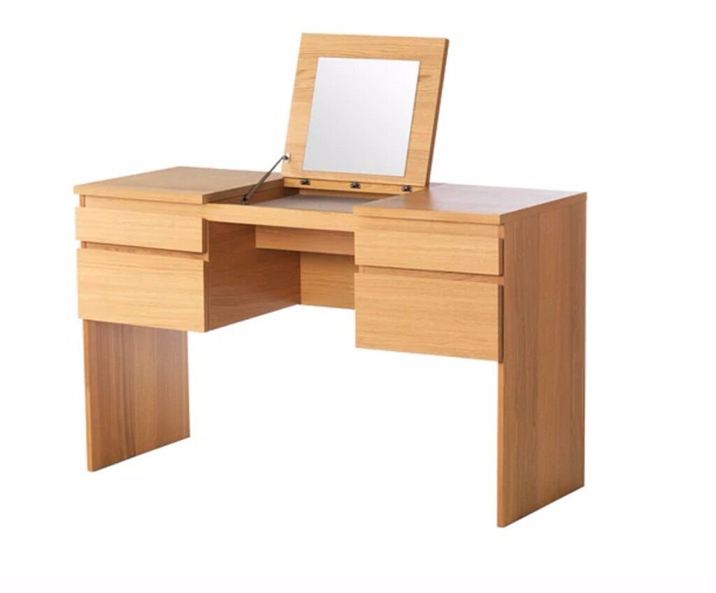 Dressing Table With Mirror And Stool Delivery Available