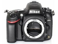 Nikon d610 low shutter and as new