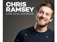 2 x Tickets Chris Ramsey Cardiff 12th July