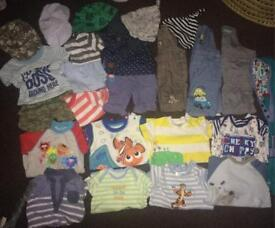 30+ items baby boy summer holiday bundle 0-3 months