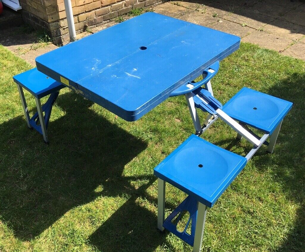 Folding Camping Table Benches
