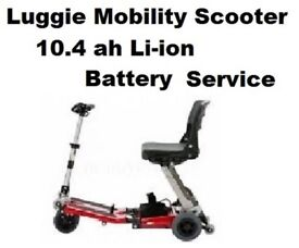FreeRider Luggie Battery 24v 10.4 ah Battery SERVICE