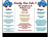 Nearly new sale / car boot sale