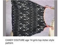Candy culture @Matalan girls summer top 14yrs