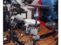 All Roland drum kit with all mesh heads, MDS20 Stand & TD10 Expanded Brain
