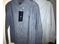 2 Authentic Boys Designer Shirts Age 5-6