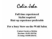 Full time Stylist required