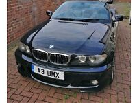 BMW 3 Series 330CI Sport Auto convertible with private number plate