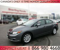 2012 Honda Civic EX | AUTOMATIC CERTIFIED
