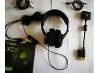Turtle Beach Earforce X12 Head Set Ear Phones Microphone XBox 360