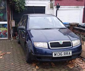 Diesel Fabia SDi 50+mpg 12 months MOT very good car