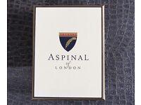 Aspinal of London Black Wallet