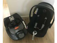 Cybex Platinum Cloud Q Reclining Seat & Isofix Base
