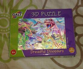 3D Dinosaur Jigsaw