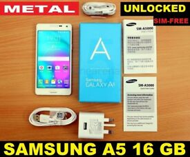 "SIMFREE SAMSUNG GALAXY A5 5"" like NOTE 3 4 J3 J5 J7 S4 S5 S6 EDGE S7 S8 S8+ S9 S9+ IPHONE 4 5 6 7 8"