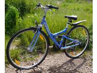 """Giant X9000 retro full sus hybrid bike, 15.5"""" S/M frame, 21 gears, 700c wheels"""