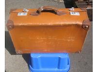 Vintage / Period Leather Suitcase