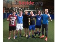 Team spaces available for our new Brixton 5-a-side football season!