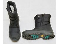 Raintex snow boots - Junior size 34. Black