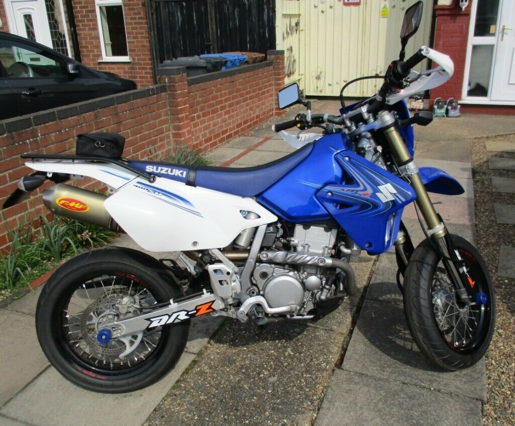 Suzuki DRZ400SM,2008, 9300 Miles, M O T  Til June 2020,Excellent Condition  For Age - COLLECTION ONLY | in Ipswich, Suffolk | Gumtree