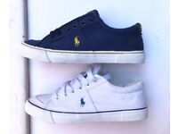 Mens Polo Ralph Lauren Trainers Shoes White Navy small pony Sizes 6-11 Brand New Nike air max 90 97