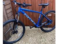 Nearly New Carrera Vulcan, Hyd Brakes/Lockout Mountain Bike £250