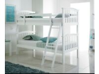 Kids white bunk beds for sale