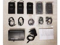 5 Wireless in Ear monitors + Transmitter TASKTAR WPM 200