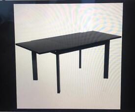 Black Gloss NEXT Extendable Table
