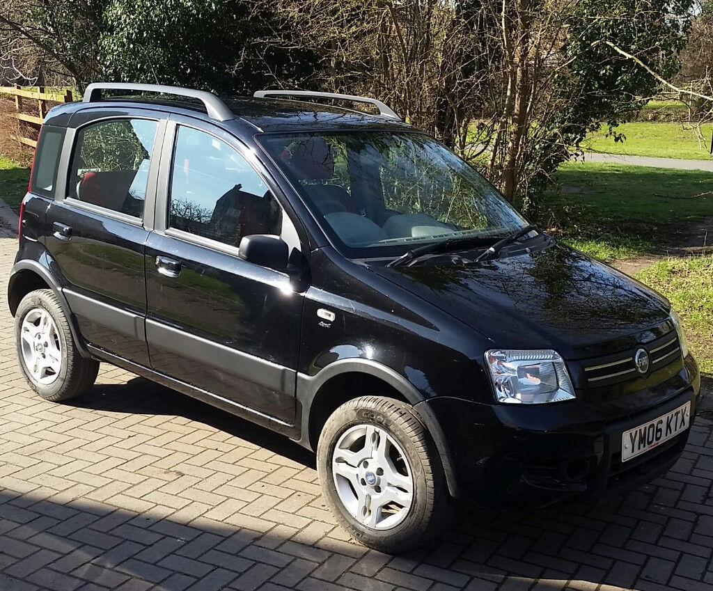 fiat panda 4x4 2006 in evesham worcestershire gumtree. Black Bedroom Furniture Sets. Home Design Ideas