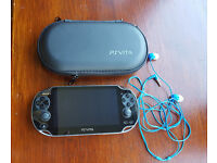 PS Vita with 32gb memory card