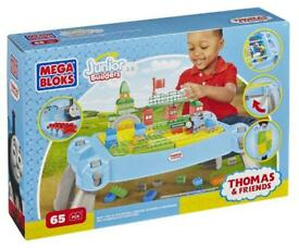 Thomas mega bloks table new