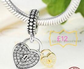 Sterling silver charms - fit Pandora