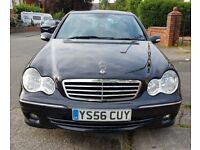 Black Mercedes-Benz C Class 2006 Manual