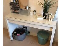 IKEA MALM DRESSING TABLE (a year old, great condition)